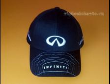 Бейсболка с логотипом авто INFINITI