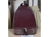 Рюкзак Michael Kors Rhea Zip Rivet Medium Bordo / Бордовый
