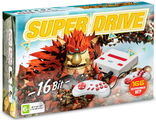 Sega Super Drive Knack (166-in-1) White