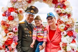 Скачки ко Дню Победы 7 мая 2016 г.