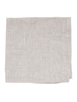 Салфетка  лен NATURAL 35X35CM STONE-WASHED LINEN 32768