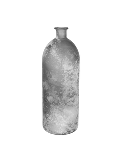Ваза VASE LINOL GREY D13.5X40CM GLASSарт.32190