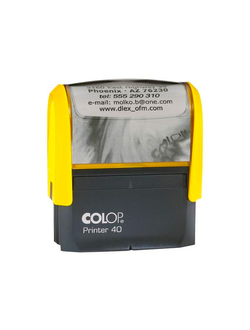 ОСНАСТКА ДЛЯ ШТАМПА COLOP PRINTER 40 NEW; 59Х23 ММ.