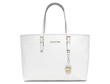 Сумка Michael Kors Jet Set Travel White / Белая