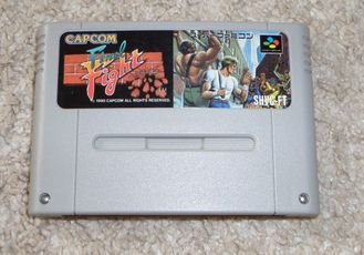 Final Fight для Super Famicom SNES Super Nintendo