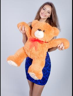 """Плюшевый медведь """"Берли""""  70 см. коричневый"""