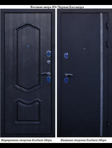 """Металлическая дверь в квартиру Юг """"Чёрная Кассандра"""""""