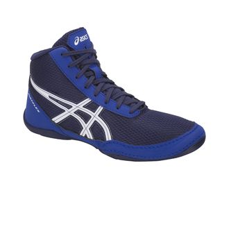 борцовки Asics Matflex 5GS Детские Indigo Blue/White C545N-400 wretsling shoes фото