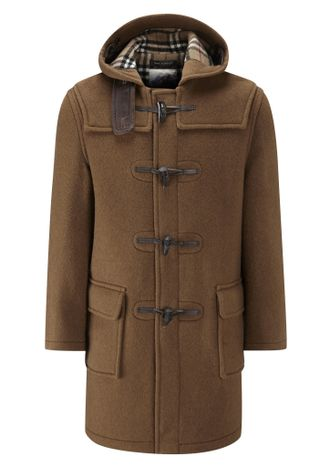 Дафлкот JOHN PARTRIDGE Camel Duffle Coat