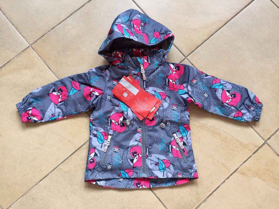 Стильные демисезонные куртки для девочек