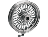 "0203-0405 Drag Specialties FAT DADDY 50-SPOKE RADIALLY LACED WHEEL 21""X3.5"" CHROME"