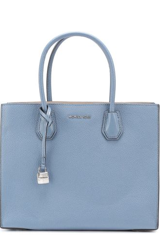 Сумка Michael Kors Mercer Light-blue / Голубая