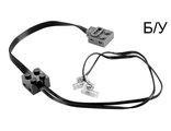 ! Б/У - Electric, Light Unit Power Functions with Black PF Connector Lead, Black (61930c01 / 4523464 / 4546421 / 6073397) - Б/У