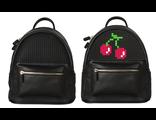 Пиксельный рюкзак для девочки Upixel  Pocker Face Backpack черный
