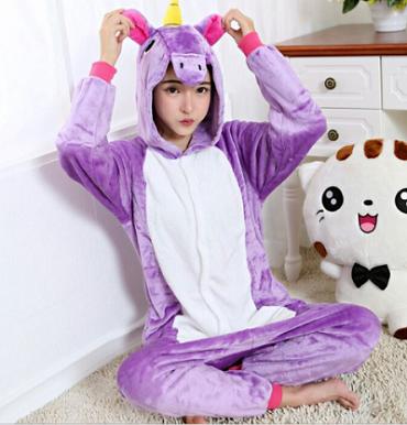 Кигуруми Единорог (Пони радужный фиолетовый) a5c751aa1ee33