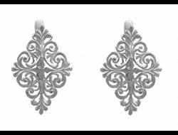 Серебряные серьги 1130