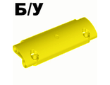 ! Б/У - Technic, Panel Curved 11 x 3 with 2 Pin Holes through Panel Surface, Yellow (62531 / 4540613 / 6206298) - Б/У