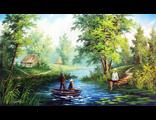 Картины на тему рыбалки
