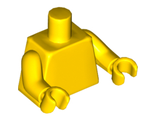 Torso Plain / Yellow Arms / Yellow Hands, Yellow (973c11 / 4293300)