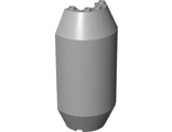 Cylinder Half 3 x 6 x 10 with 1 x 2 Cutout, Light Bluish Gray (92591 / 6134428)