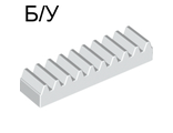 ! Б/У - Technic, Gear Rack 1 x 4, White (3743 / 4250465) - Б/У