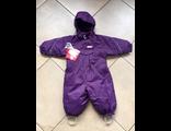 Теплый зимний мембранный комбинезон Reima tec цвет Dark Purple