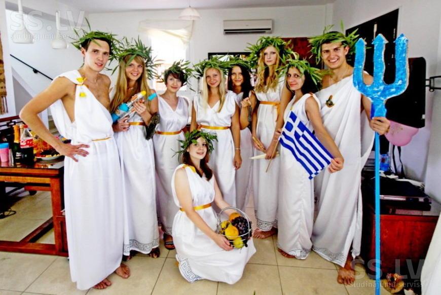 Поздравления в стиле греческих богов