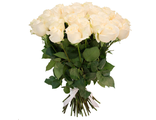 Букет 31 белая роза