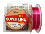 Леска BAT SUPER LINE RED 30м./ 0,1 (монофил)