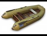 Моторно-гребная лодка Камыш 3000 серия Facile (длина 300см, баллон 41см, жесткий пол, киль, мотор до 8 лс)