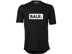 ФУТБОЛКА BALR CLUB SHIRT BLACK