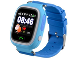 Smart Baby Watch (G72) с wi fi голубые