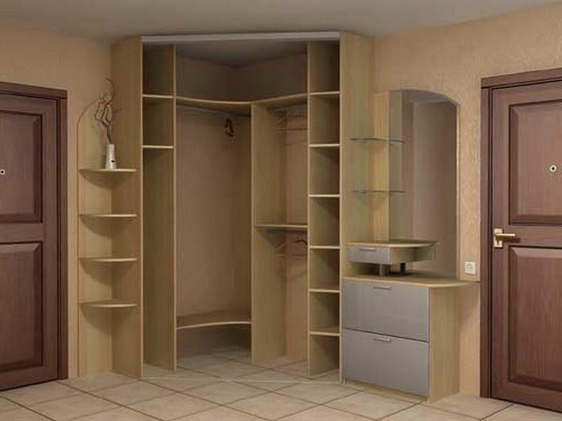 Угловые шкафы - наполнение для углового шкафа-купе.