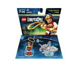 LEGO Dimensions Fun Pack - DC Comics (Wonder Woman, Invisible Jet)