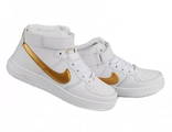 Кроссовки Nike Air Force 1 Mid White Gold