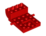 Vehicle, Base 4 x 6 x 1 2/3 Curved, Red (24055 / 6176286)
