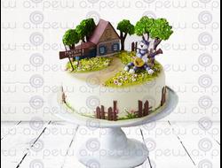 """Торт № 14 """"Простоквашино"""" (Детские торты)"""