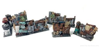 Junk Town Walls (PAINTED)