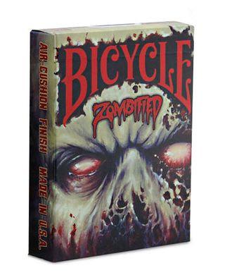 Страшные, дизайнерские, игральные карты, для покера, BICYCLE ZOMBIFIED, Байсикл зомбифид, колода