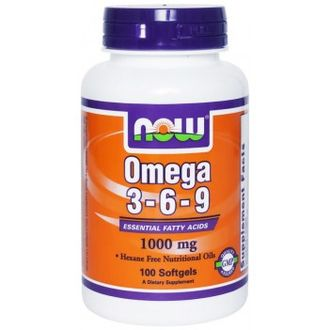 Now Omega 3-6-9 (100 капс.)