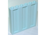 Panel 1 x 6 x 5 Corrugated, Light Aqua (23405 / 6227705)