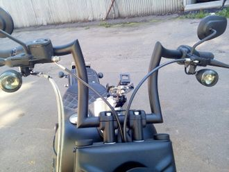 Руль на  Fat Boy Harley-Davidson