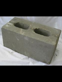 Блок пескоцементный стеновой двухпустотный КСЛ-ПР-ПС-39-75-F50-1700 ГОСТ 6133-99