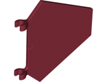 Flag 5 x 6 Hexagonal, Dark Red (x1435 / 4279581 / 6075221 / 6136881)
