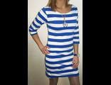 Платье в морском стиле с широкой полосой