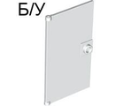 ! Б/У - Door 1 x 4 x 6 with Stud Handle, White (60616 / 4611164 / 6248916) - Б/У