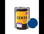 Грунт-эмаль Церта-Пласт «3 в 1» синяя полуглянец 0,8 кг
