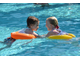 Надувной круг для плавания SWIMTRAINER Classic оранжевый до 6 лет
