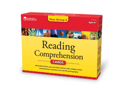 Reading Comprehension Cards Year Group 4