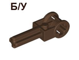 ! Б/У - Technic Pole Reverser Handle, Brown (6553 / 4141411 / 4201007) - Б/У